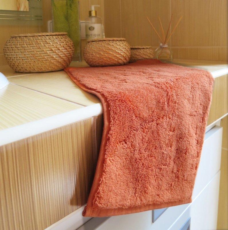 Polášek Holešov Ručník tera 100% bavlna Oranžová 30x50