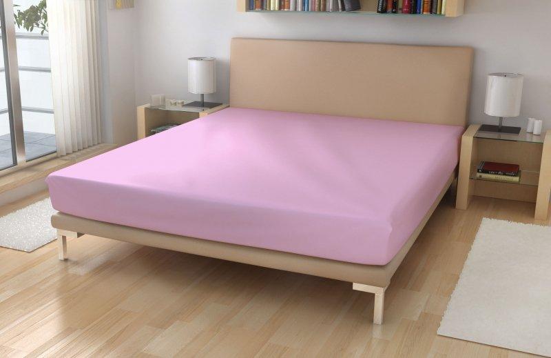 Irisette Jersey prostěradlo č.11 sv.růžová LYCRA 95% bavlna + 5% elastan Růžová 180x200