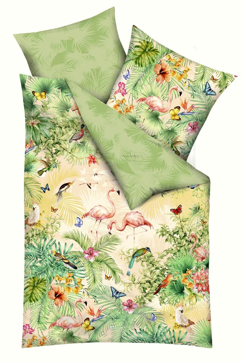 Kaeppel Povlečení Kaeppel Bora Bora 153/03 100% bavlna květiny 140x200 / 70x90