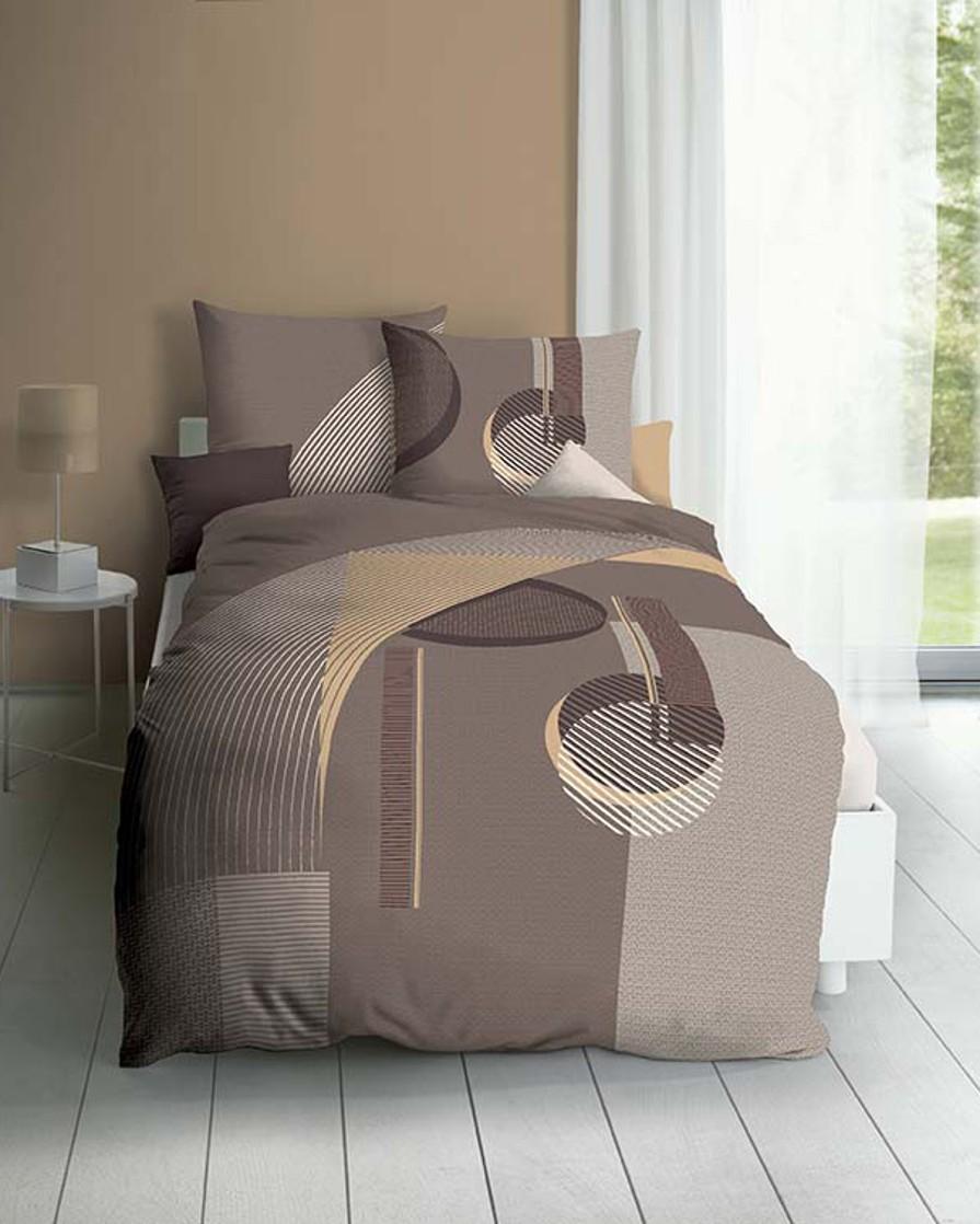 Polášek Holešov Povlečení Kaeppel FL Concrete 043/82 100% bavlna geometrie 140x200 / 70x90
